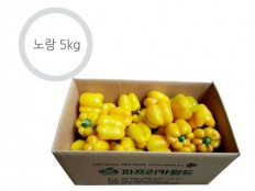 노랑 파프리카 - 5kg ( 21~26개 내외 ) 특품