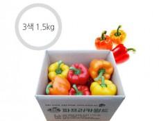 3색 혼합 파프리카 - 1.5kg ( 6~9개 ) 특품